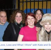 Scot with Mary Testa, Kate, Didi Conn and Loretta Swit